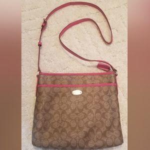 Authentic Coach Crossbody Shoulder Bag